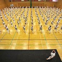 Photo taken at Tang Soo Do cīņas māklas skola by Tang Soo Do cīņas māklas skola on 8/14/2014