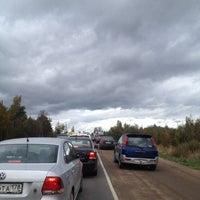 Photo taken at Чикинское Озеро by Оленька Н. on 9/28/2014
