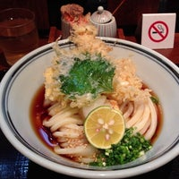 Photo taken at うどん棒 大阪本店 by Masatoshi S. on 11/9/2012