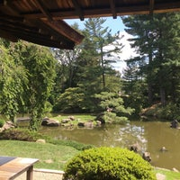 Photo taken at Shofuso Japanese House and Garden by Chiara G. on 8/20/2016