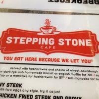 Photo taken at Stepping Stone Cafe by Dakota N. on 4/16/2013