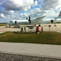 Photo taken at Windsor International Airport (YQG) by Andy B. on 6/25/2012