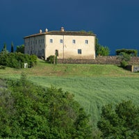 Photo taken at Bellorcia, Tuscookany cooking school in Tuscany by Tuscookany, cooking vacation in Tuscany on 8/22/2014