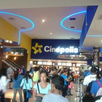 Photo taken at Cinépolis by melvarosam on 6/29/2013