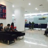 Photo taken at Bank Mandiri Klandasan by Donatello on 4/21/2016
