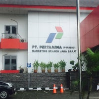 Photo taken at Pertamina Unit Pemasaran III by Donatello on 3/21/2016