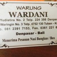 Photo taken at Warung Wardani by Donatello on 8/23/2017
