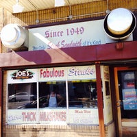 Photo taken at Joe's Steaks + Soda Shop by Ryan R. on 9/23/2013