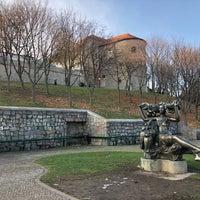 Photo taken at Hrad Modrý Kameň by Paola on 12/7/2017