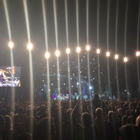 Photo taken at Coachella Main Stage by Alex R. on 4/22/2015