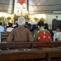 Photo taken at SMA Santo Kristoforus 1 by elisa k. on 5/19/2013