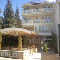 Photo taken at Hotel Lebed Ohrid by Slavco S. on 4/1/2013