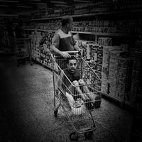 Photo taken at Supermercados Guanabara by Leandro Roberto on 10/8/2015