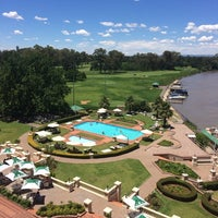 Photo taken at Riviera On Vaal Hotel & Country Club by Adriana O. on 12/31/2013