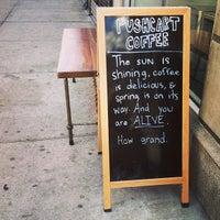 Снимок сделан в Pushcart Coffee пользователем Aimee 3/30/2013