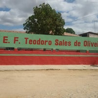 Photo taken at EEF Teodoro Sales de Oliveira by Marcia R. on 9/3/2014