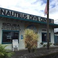 Photo taken at Nautulis Dive Center by Darren W. on 10/28/2015
