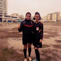 Photo taken at Camspor Spor Tesisleri by Şevin Ş. on 1/26/2018