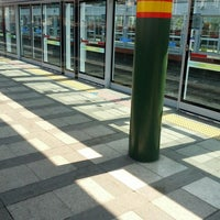 Photo taken at Sinimun Stn. by Manwoong L. on 4/24/2013
