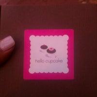 Photo taken at Hello Cupcake by Torya on 10/31/2012