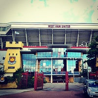 Photo taken at West Ham Utd Supporters Club by Jaesa R. on 8/26/2012