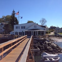 Photo taken at Portsmouth Yacht Club by Patrick C. on 10/13/2012