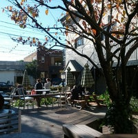 Photo taken at Bloc 11 Cafe by L E. on 10/16/2012