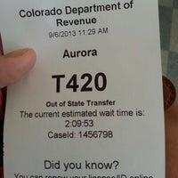 Photo taken at DMV by Melanie W. on 9/6/2013