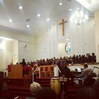 Photo taken at Shiloh Baptist Church by Michael H. on 12/14/2014