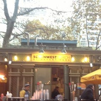 Photo taken at Southwest Porch at Bryant Park by Kathy H. on 11/28/2012