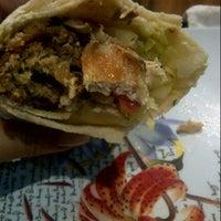 Photo taken at Malek al shawarma by Denise G. on 3/3/2013