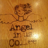 Photo taken at Angel-in-us Coffee by David B. on 10/15/2013