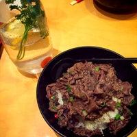 Photo taken at Menya Japanese Noodle Cafe by Nivita P. on 7/10/2016