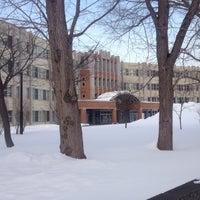 Photo taken at 北海道札幌北高等学校 by ひろてぃん on 1/16/2015