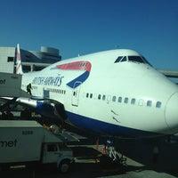 Photo taken at British Airways Terraces Lounge by Nick C. on 1/31/2013