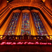Photo taken at Liverpool Cathedral by Kelly J. on 4/11/2013
