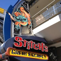 Photo taken at Stitch's Great Escape! by Alexis U. on 12/31/2012