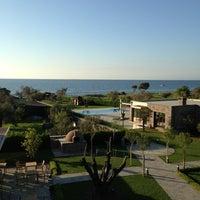 Photo taken at Assos Ida Costa Hotel by Esra O. on 4/13/2013
