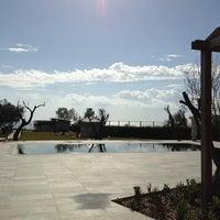 Photo taken at Assos Ida Costa Hotel by Esra O. on 3/10/2013