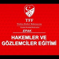 Photo taken at Türkiye Faal Futbol Hakemleri ve Gözlemcileri Derneği   İstanbul Şubesi by Zeynep A. on 11/9/2016