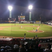 Photo taken at Estadio Julian Javier by Jesus Daniel V. on 12/2/2016