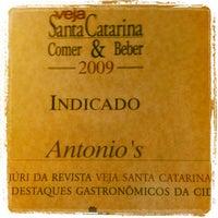 Photo taken at Antônio's Restaurante by Beto K. on 1/3/2013