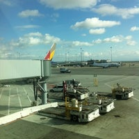 Photo taken at Gate A5 by David T. on 11/8/2012