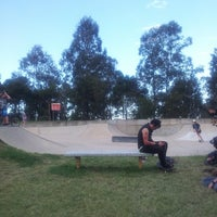 Photo taken at Rosewood Skate Park by Red M. on 7/5/2013