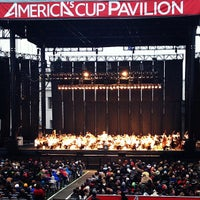 Photo taken at America's Cup Pavilion by Anton V. on 7/21/2013