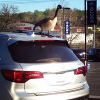 Photo taken at Jay Wolfe Acura by Ashley R. on 4/22/2014
