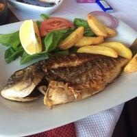 Photo taken at Sembol Fısh & Meat House by Anastasiya A. on 10/17/2014