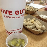 Photo taken at Five Guys by Phil Y. on 7/4/2013
