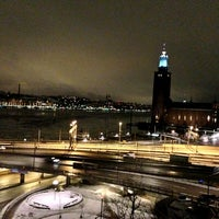 Photo taken at Sheraton Stockholm Hotel by Fabio M. on 1/28/2013