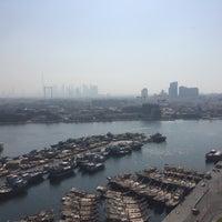 Photo taken at Hilton Dubai Roof Pool by 🎼Delphine on 3/1/2017